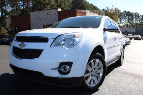 2011 Chevrolet Equinox for sale at Atlanta Unique Auto Sales in Norcross GA