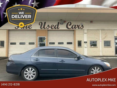 2007 Honda Accord for sale at Autoplex MKE in Milwaukee WI