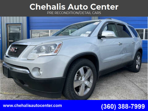 2012 GMC Acadia for sale at Chehalis Auto Center in Chehalis WA