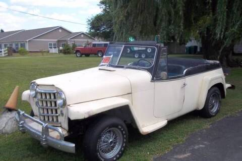 1951 Willys Jeepster for sale at Classic Car Deals in Cadillac MI