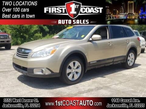 2010 Subaru Outback for sale at 1st Coast Auto -Cassat Avenue in Jacksonville FL