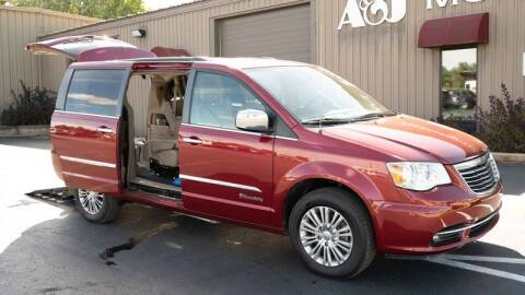 2014 Chrysler Town and Country for sale at A&J Mobility in Valders WI