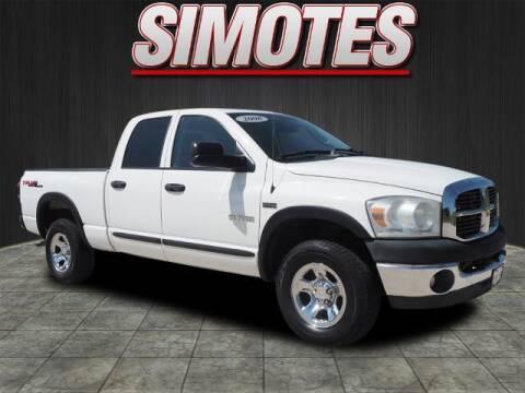2008 Dodge Ram Pickup 1500 for sale at SIMOTES MOTORS in Minooka IL