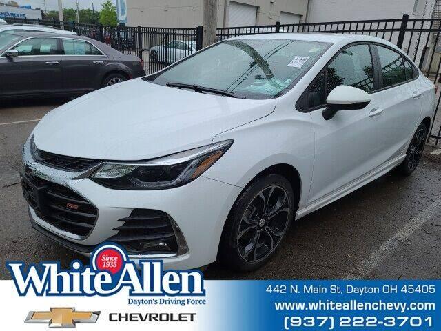 2019 Chevrolet Cruze for sale at WHITE-ALLEN CHEVROLET in Dayton OH