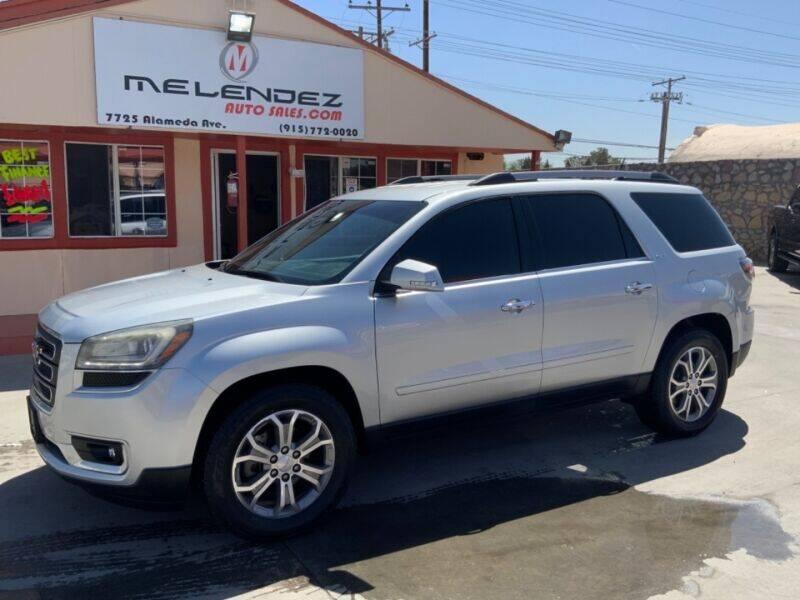 2015 GMC Acadia for sale in El Paso, TX