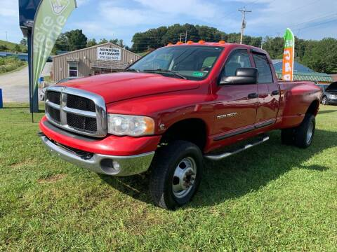 2005 Dodge Ram Pickup 3500 for sale at ABINGDON AUTOMART LLC in Abingdon VA