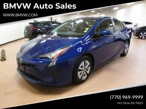 2017 Toyota Prius for sale at BMVW Auto Sales - Electric Vehicles in Union City GA