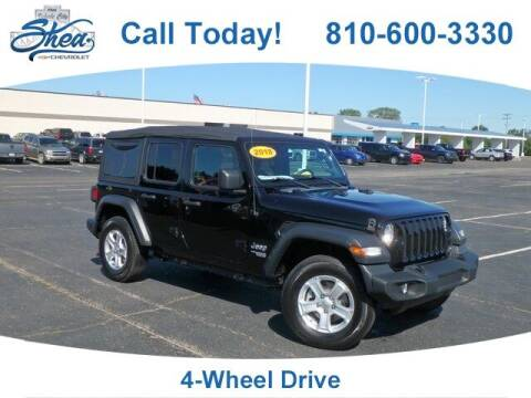 2018 Jeep Wrangler Unlimited for sale at Erick's Used Car Factory in Flint MI