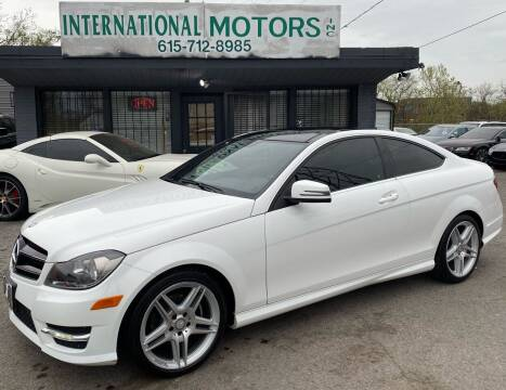 2014 Mercedes-Benz C-Class for sale at International Motors Inc. in Nashville TN