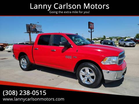 2017 RAM Ram Pickup 1500 for sale at Lanny Carlson Motors in Kearney NE