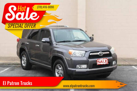 2010 Toyota 4Runner for sale at El Patron Trucks in Norcross GA