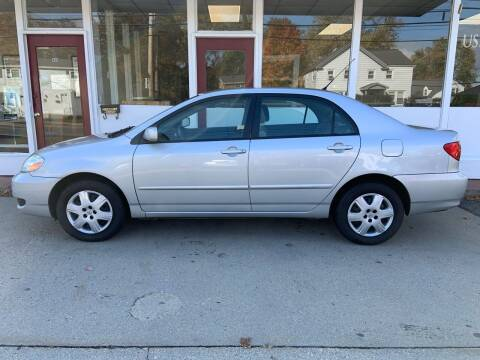 2007 Toyota Corolla for sale at O'Connell Motors in Framingham MA