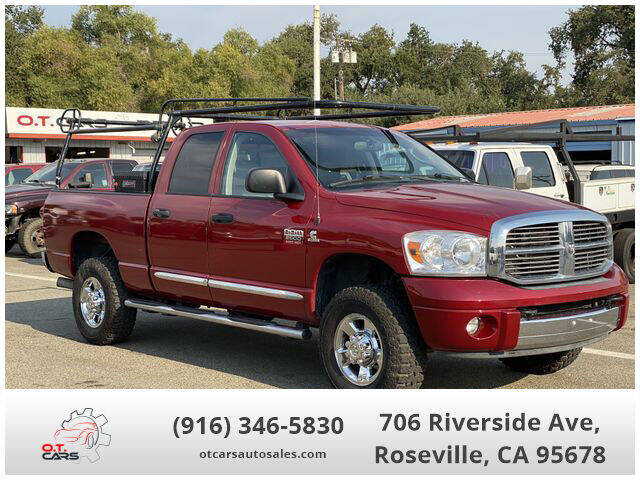 2008 Dodge Ram Pickup 2500 for sale at OT CARS AUTO SALES in Roseville CA
