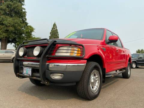 2001 Ford F-150 for sale at Pacific Auto LLC in Woodburn OR