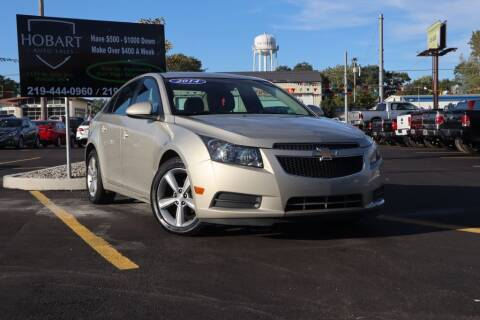 2014 Chevrolet Cruze for sale at Hobart Auto Sales in Hobart IN