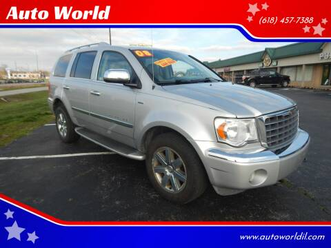 2008 Chrysler Aspen for sale at Auto World in Carbondale IL