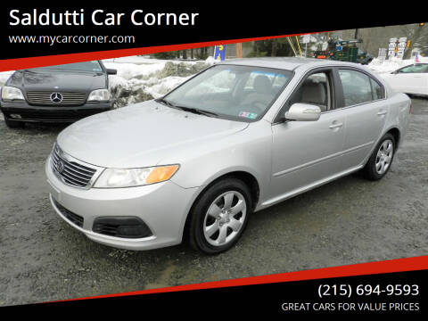2009 Kia Optima for sale at Saldutti Car Corner in Gilbertsville PA