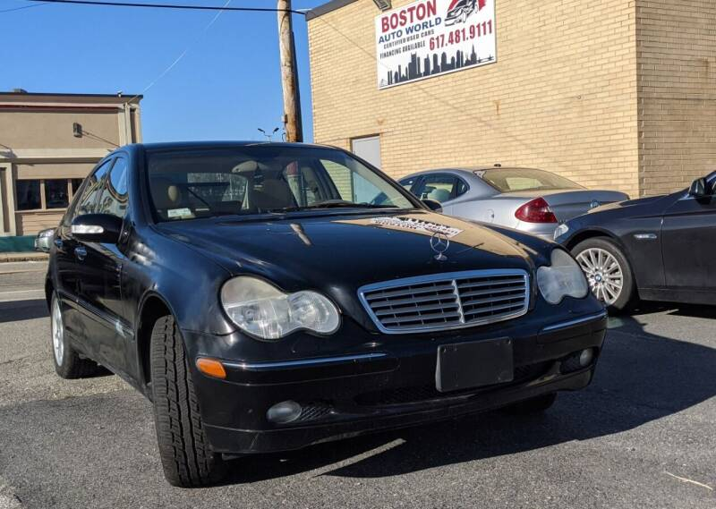 2002 Mercedes-Benz C-Class for sale at Boston Auto World in Quincy MA