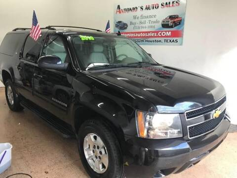 2013 Chevrolet Suburban for sale at Antonio's Auto Sales in South Houston TX