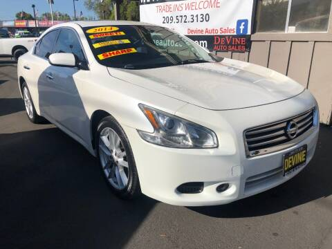 2014 Nissan Maxima for sale at Devine Auto Sales in Modesto CA