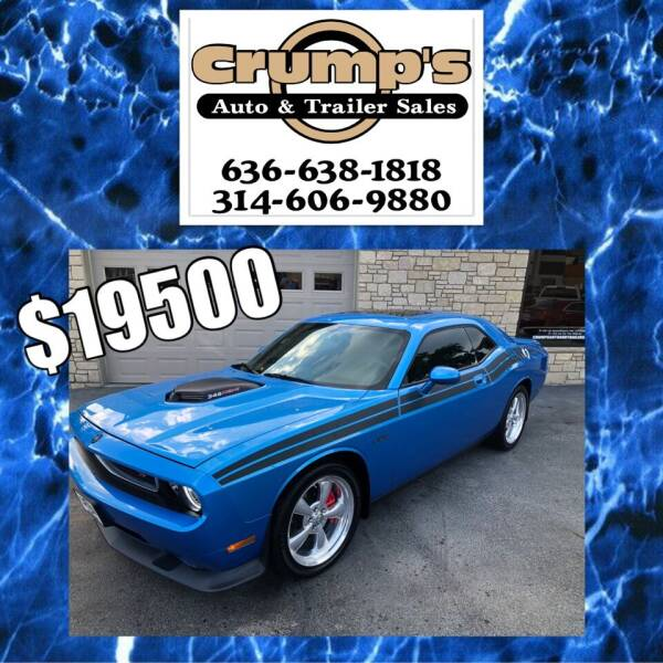 2010 Dodge Challenger for sale at CRUMP'S AUTO & TRAILER SALES in Crystal City MO