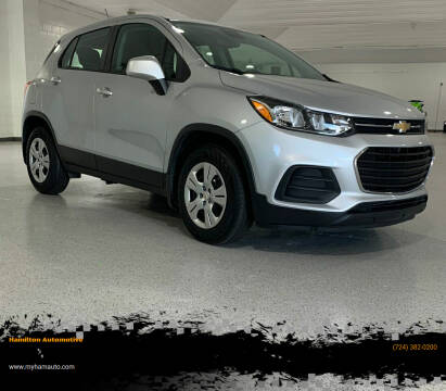 2017 Chevrolet Trax for sale at Hamilton Automotive in North Huntingdon PA