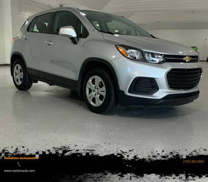 2017 Chevrolet Trax for sale at Hamilton Automotive in North Huntingdon PA