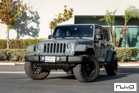 2014 Jeep Wrangler Unlimited for sale at Nuvo Trade in Newport Beach CA