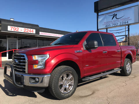 2016 Ford F-150 for sale at NORRIS AUTO SALES in Oklahoma City OK