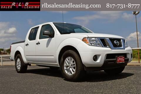 2018 Nissan Frontier for sale at RLB Sales and Leasing in Fort Worth TX