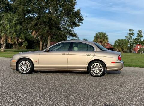 2003 Jaguar S-Type for sale at P J'S AUTO WORLD-CLASSICS in Clearwater FL