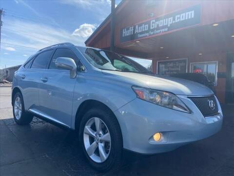 2011 Lexus RX 350 for sale at HUFF AUTO GROUP in Jackson MI