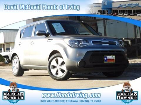 2015 Kia Soul for sale at DAVID McDAVID HONDA OF IRVING in Irving TX