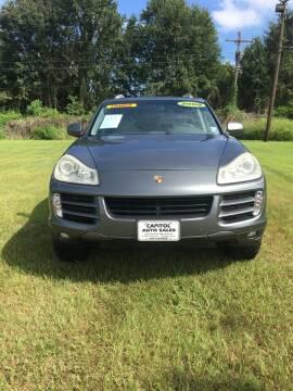 2008 Porsche Cayenne for sale at CAPITOL AUTO SALES LLC in Baton Rouge LA