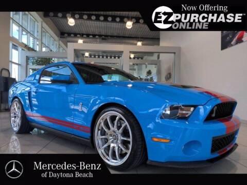 2010 Ford Shelby GT500 for sale at Mercedes-Benz of Daytona Beach in Daytona Beach FL