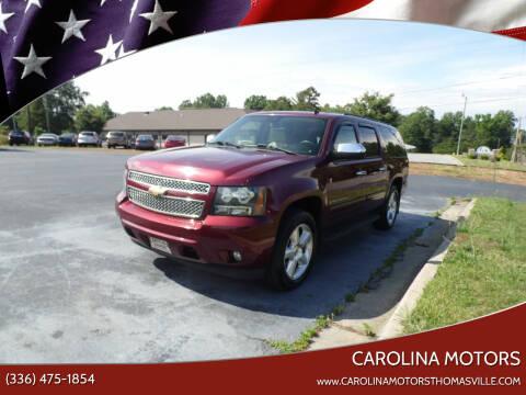 2008 Chevrolet Suburban for sale at CAROLINA MOTORS in Thomasville NC