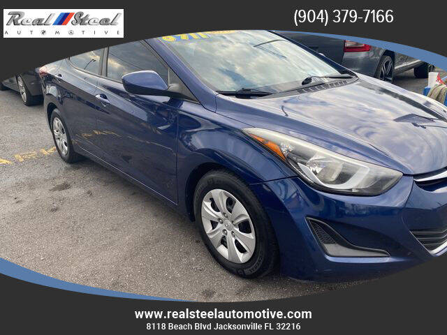 2016 Hyundai Elantra for sale at Real Steel Automotive in Jacksonville FL