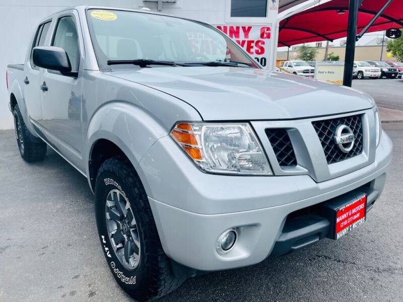 2016 Nissan Frontier for sale at Manny G Motors in San Antonio TX