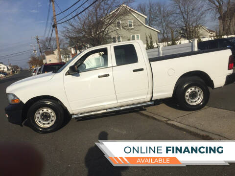 2012 RAM Ram Pickup 1500 for sale at New Jersey Auto Wholesale Outlet in Union Beach NJ