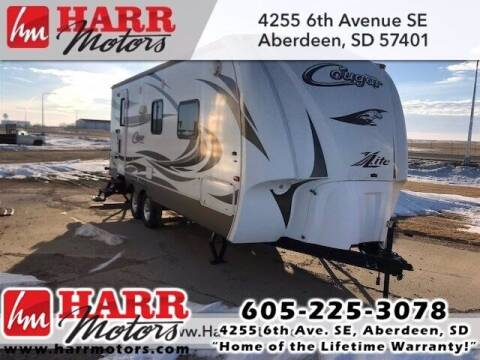 2012 Keystone Cougar for sale at Harr's Redfield Ford in Redfield SD