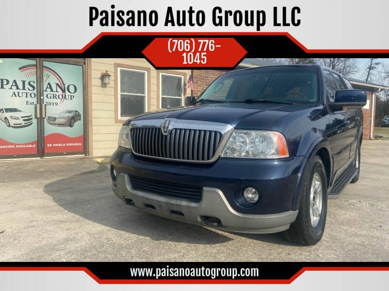 2004 Lincoln Navigator for sale at Paisano Auto Group LLC in Cornelia GA