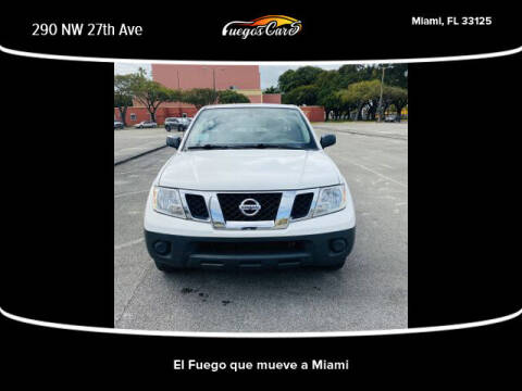 2018 Nissan Frontier for sale at Fuego's Cars in Miami FL