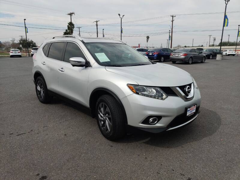 2016 Nissan Rogue for sale at Mid Valley Motors in La Feria TX