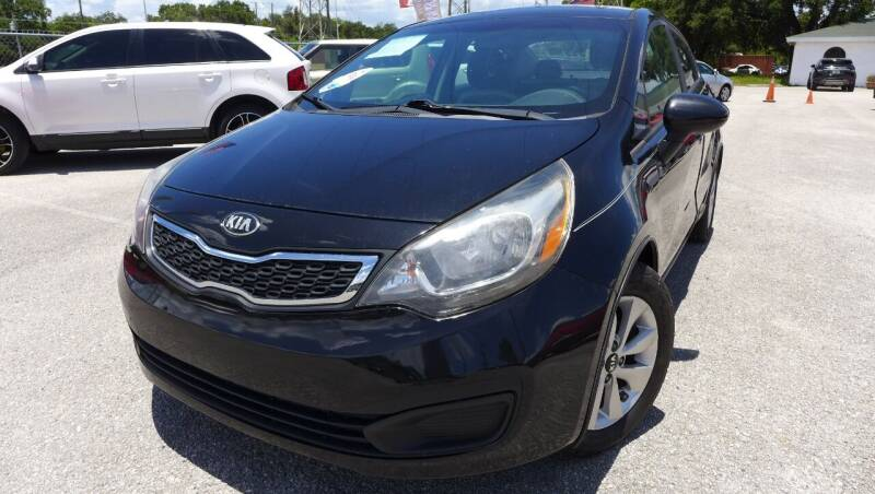2017 Kia Rio for sale at Das Autohaus Quality Used Cars in Clearwater FL