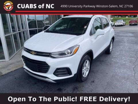 2020 Chevrolet Trax for sale at Credit Union Auto Buying Service in Winston Salem NC