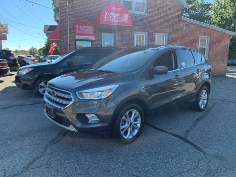 2017 Ford Escape for sale at Ludlow Auto Sales in Ludlow MA