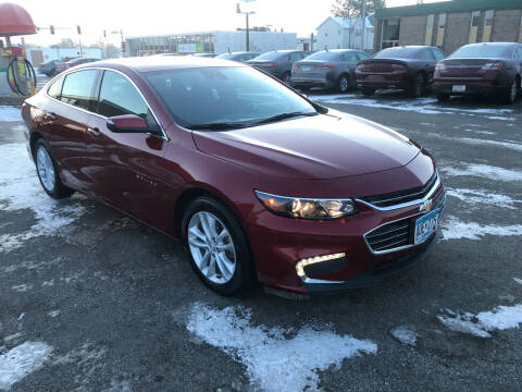 2018 Chevrolet Malibu for sale at Carney Auto Sales in Austin MN