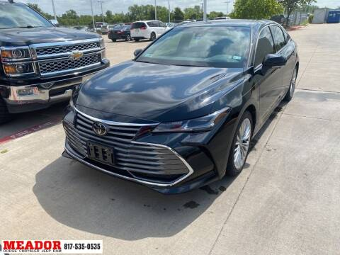 2019 Toyota Avalon for sale at Meador Dodge Chrysler Jeep RAM in Fort Worth TX