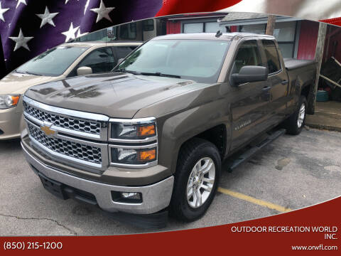 2014 Chevrolet Silverado 1500 for sale at Outdoor Recreation World Inc. in Panama City FL