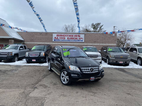 2011 Mercedes-Benz M-Class for sale at Brothers Auto Group in Youngstown OH